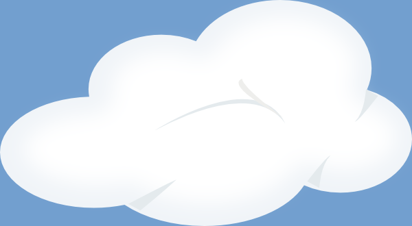 Set Of Soft Clouds Clip Art At Clker Com   Vector Clip Art Online
