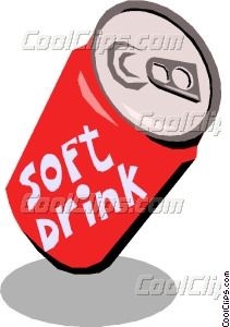 Soft drinks clip art