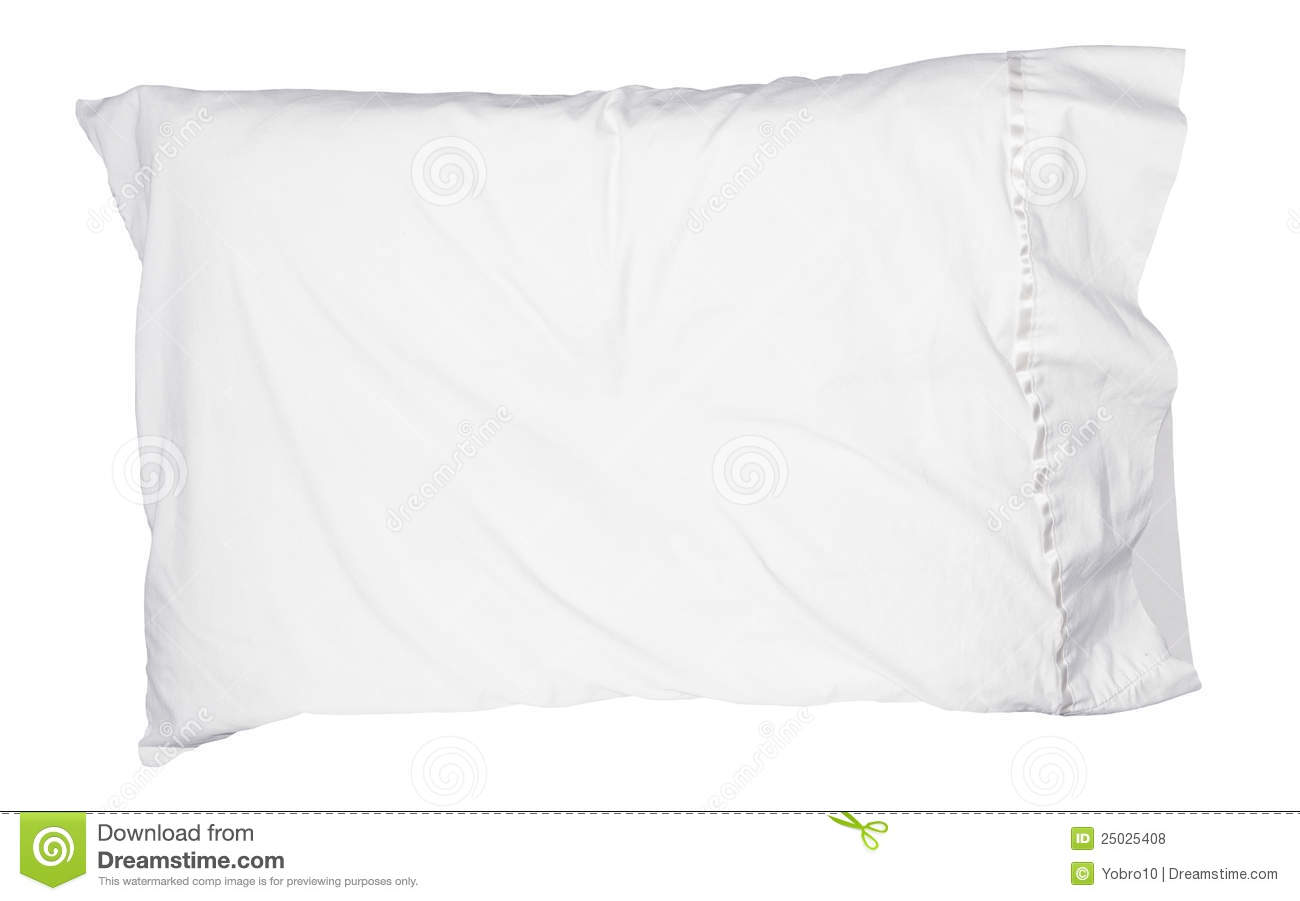 Soft White Pillow Isolated Royalty Free Stock Photos   Image  25025408