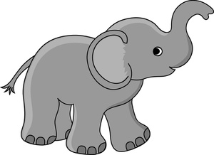 Art Images Baby Elephant Stock Photos   Clipart Baby Elephant Pictures