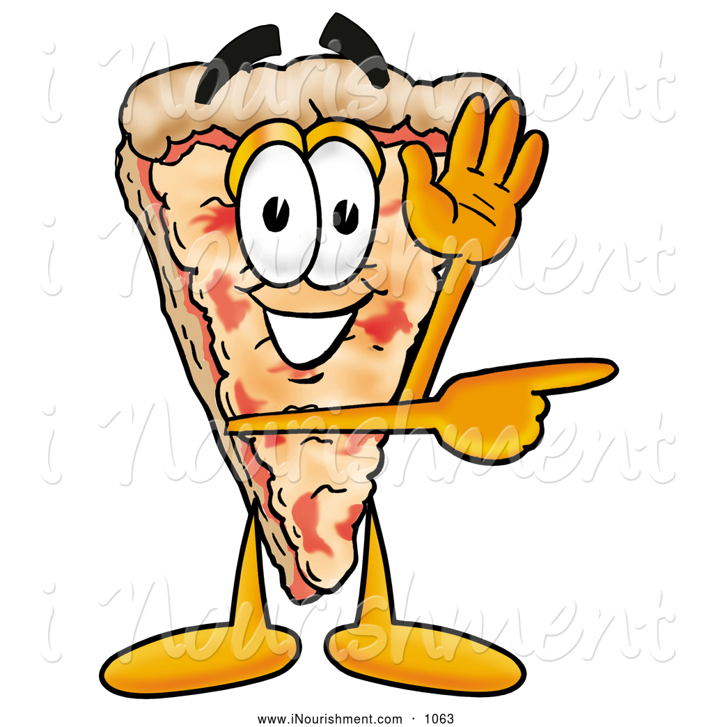 Pizza Character Clipart - Clipart Kid