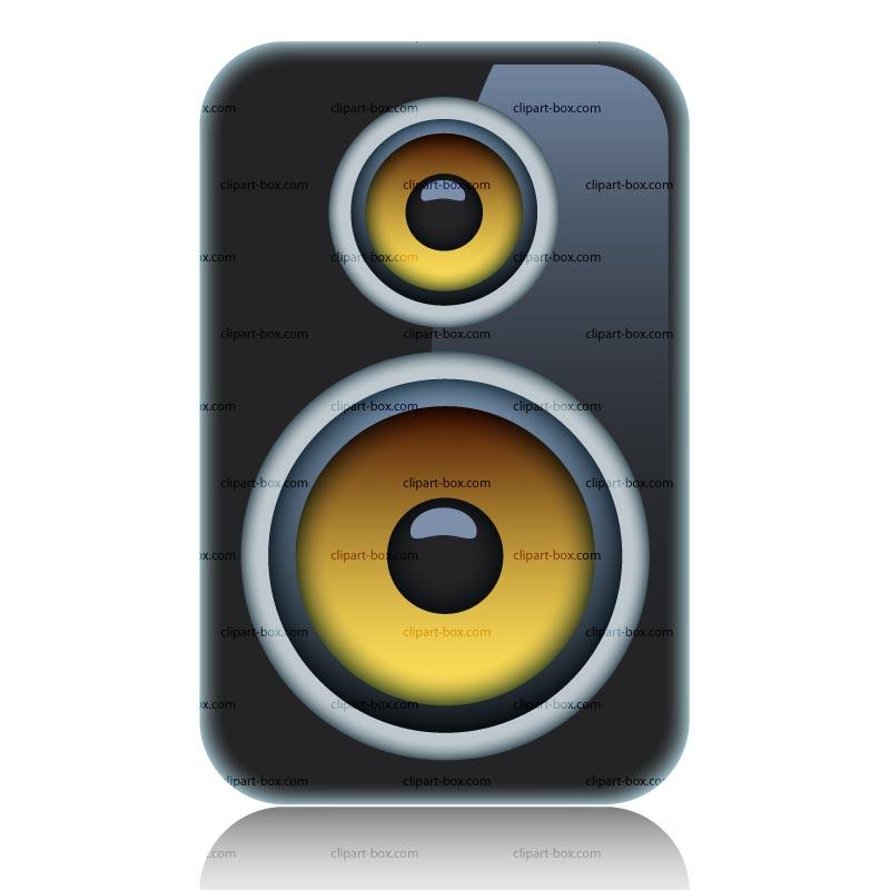 Speaker Box Clipart - ...