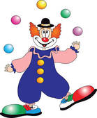 Clown Stock Illustrations   Gograph