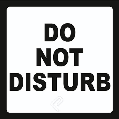 Do Not Disturb Art Print At Postercartel