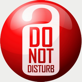 Do Not Disturb Sign Do Not Disturb
