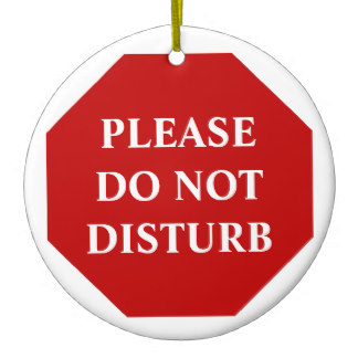 Do Not Disturb Signs Clip Art