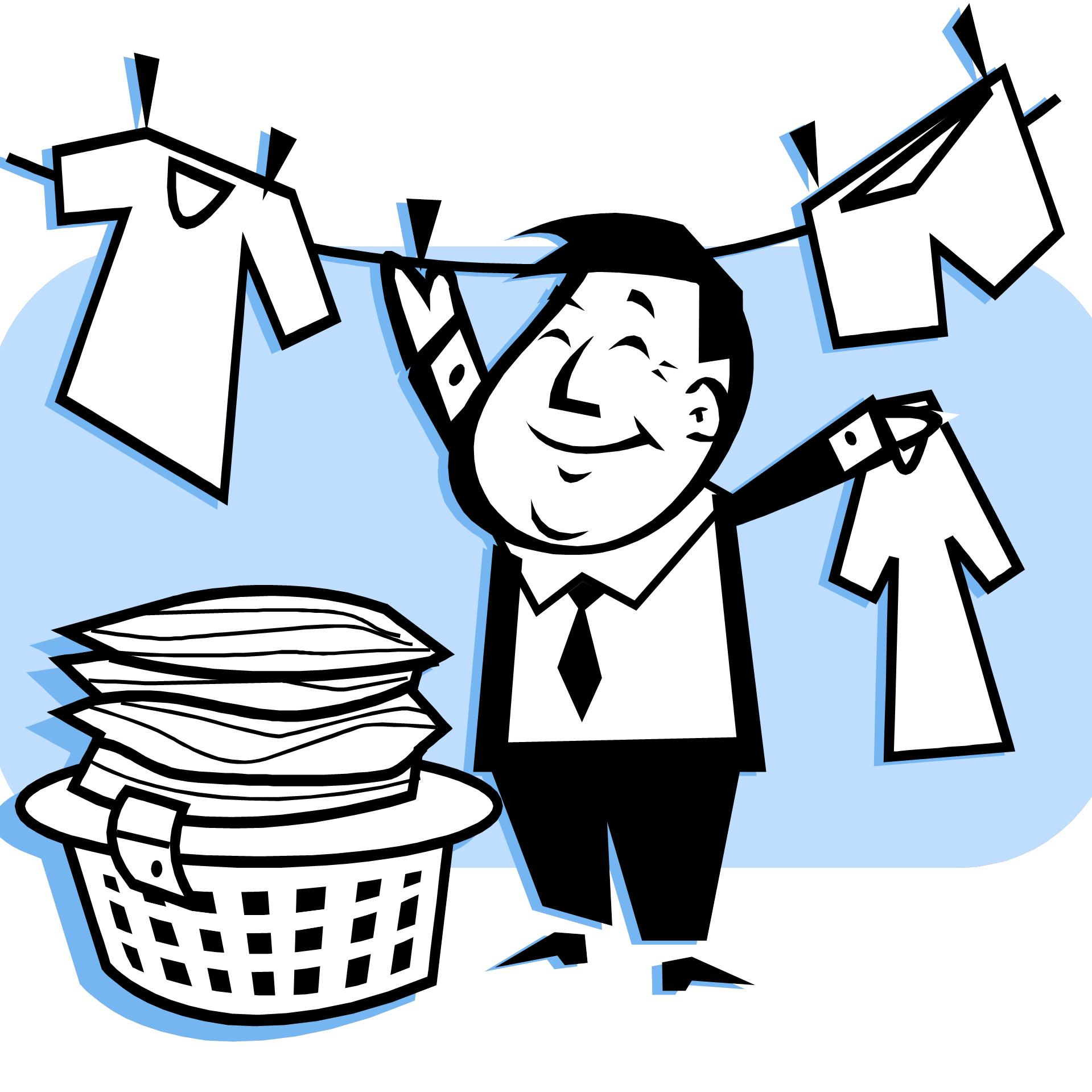 Clean Laundry Clipart - Clipart Suggest