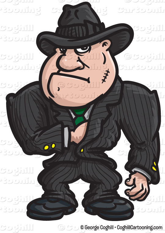 Gangster Cartoon Clip Art 540px Jpg