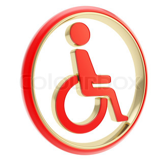 Handicapped Person In Wheelchair   Stock Photo   Colourbox