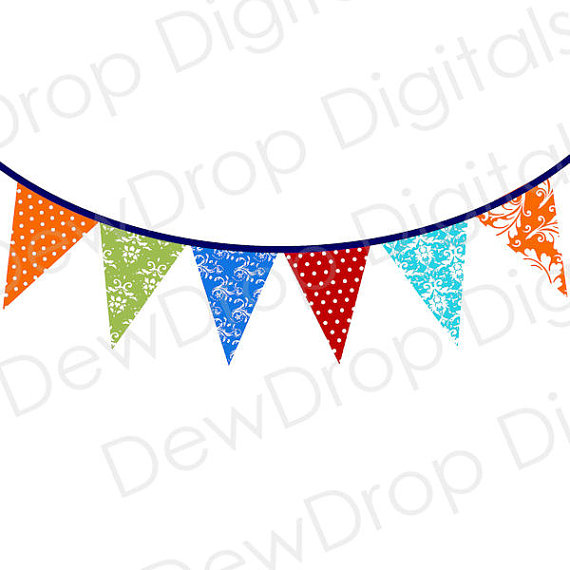 Polka Dot Triangle Banner Clipart   Clipart Panda   Free Clipart