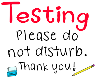 Testing Do Not Disturb Sign Printable Clipart   Free Clipart