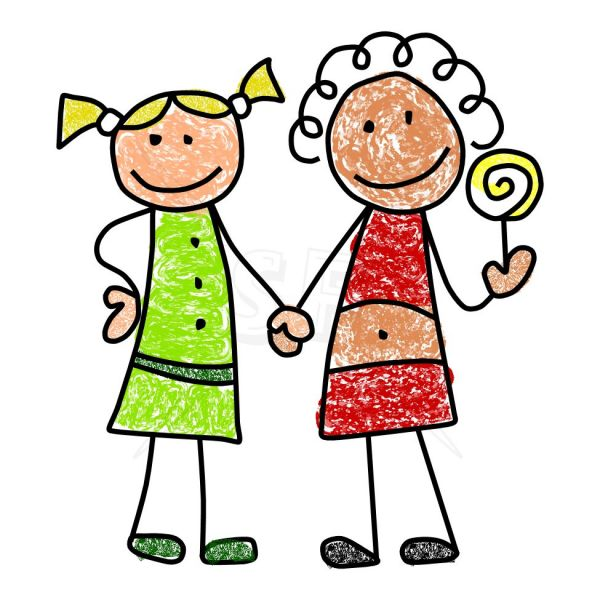 Best Friends Clip Art Free   Clipart Best   Clipart Best