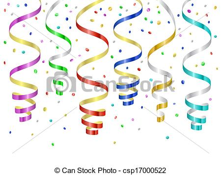 Confetti Serpentines Streamers Stock Photos And Images  5 Confetti