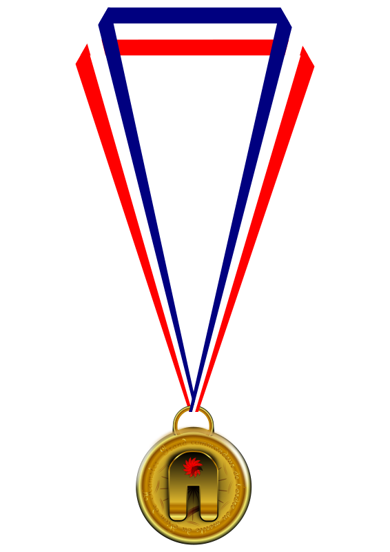 Free Gold Medal Clip Art