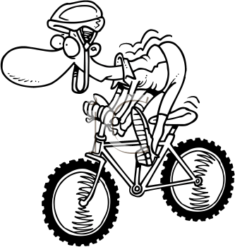 Funny Bus With Bicycles Clipart - Clipart Kid