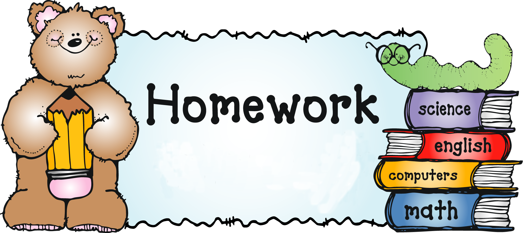 Homework Clipart Clipart Suggest