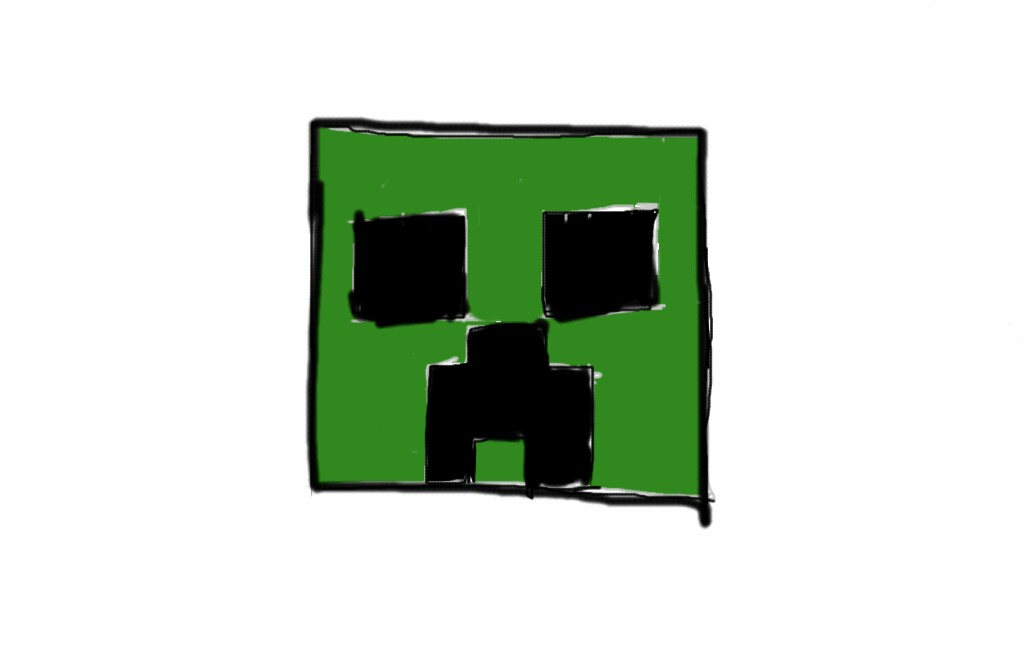 minecraft creeper clipart clipart suggest