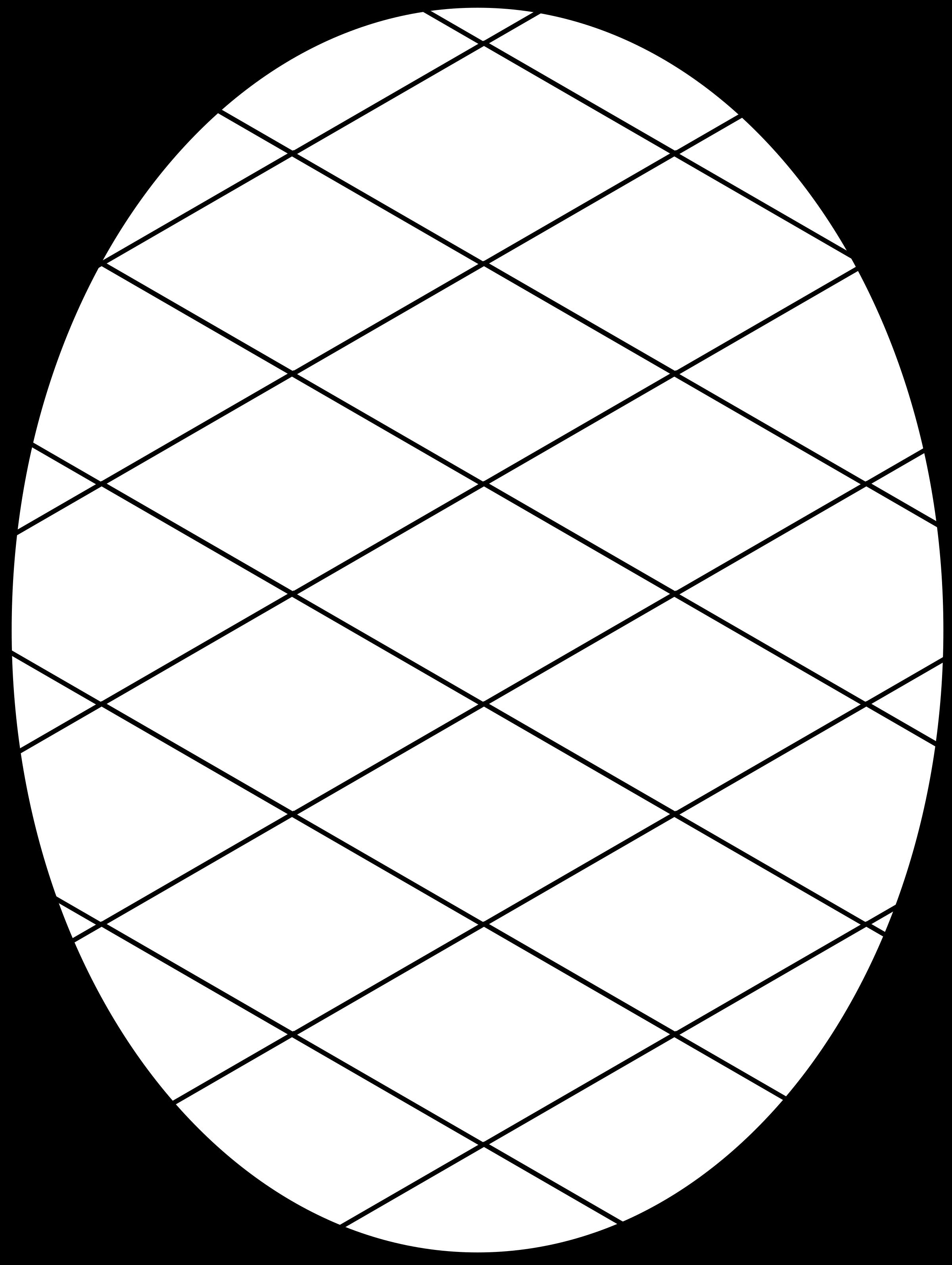 Pattern Diamond Outline