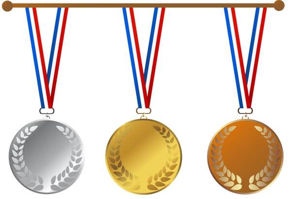 Gold Medal Clipart - Clipart Kid