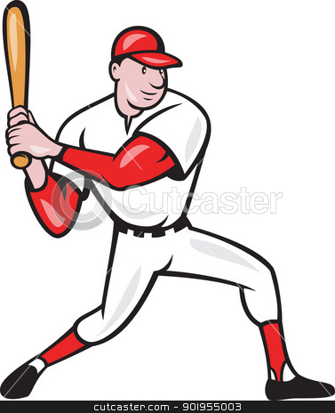 Cartoon Baseball Player Clipart - Clipart Suggest