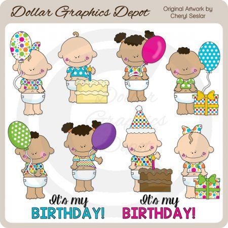 Birthday   Clip Art    1 00   Dollar Graphics Depot Quality Graphics