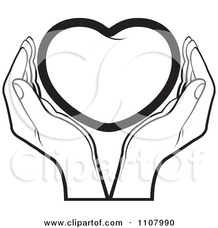 Crafty Hands Holding Heart Clipart - Clipart Kid
