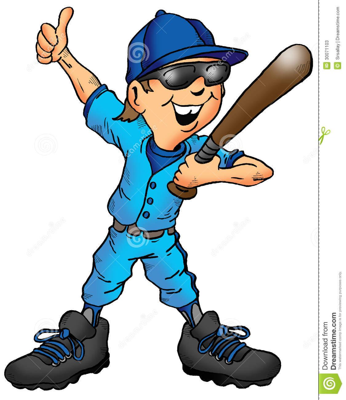 free clipart of baseball players - photo #50