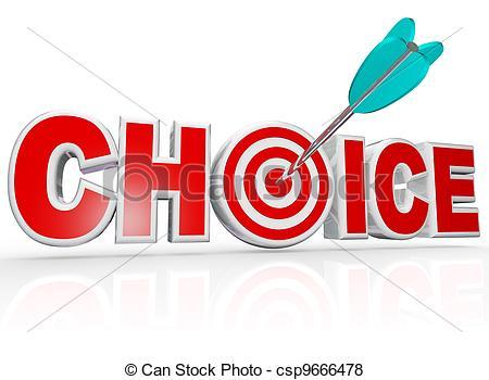 Word Choice Clipart