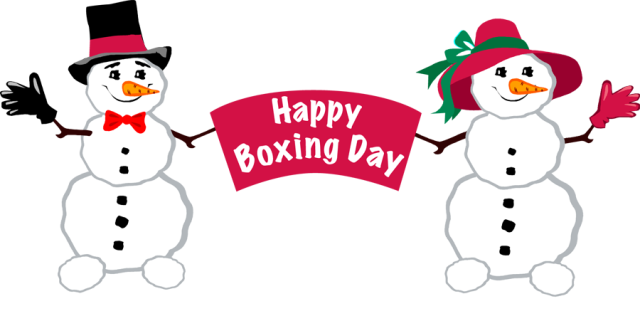 Let S Celebrate Boxing Day