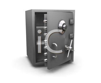 Home Vault Clip Art Open Safe