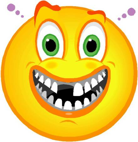 Toothless Smiley Face Clipart Clipart Suggest