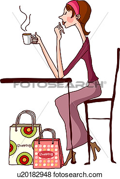 On Break Clip Art Coffee Break From Shopping #eoEwP5 - Clipart Kid