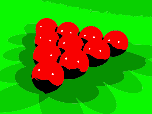 Red Snookers Clipart Vector Clip Art Online Royalty Free Design