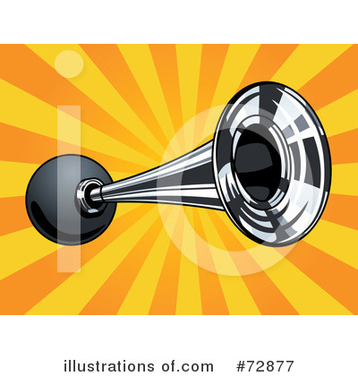 Royalty Free  Rf  Horn Clipart Illustration By R Formidable   Stock