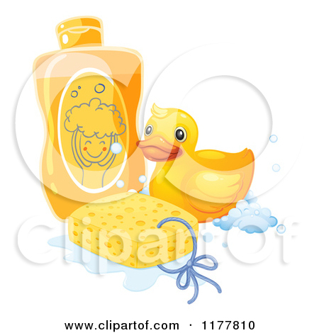 Shampoo and soap clipart