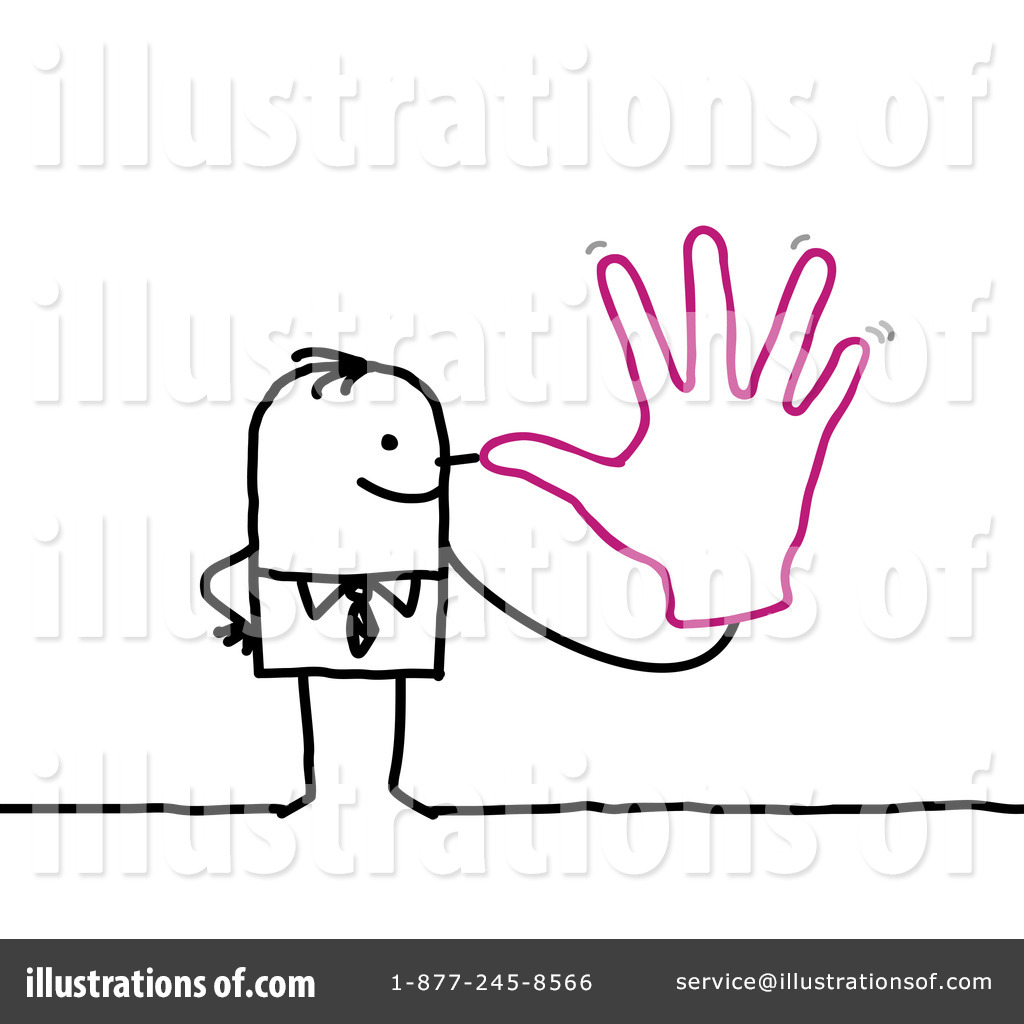 Snook Clipart Royalty Free  Rf  Stick People Clipart Illustration By