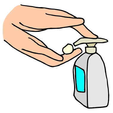 Hands To Add Soap Clipart - Clipart Kid