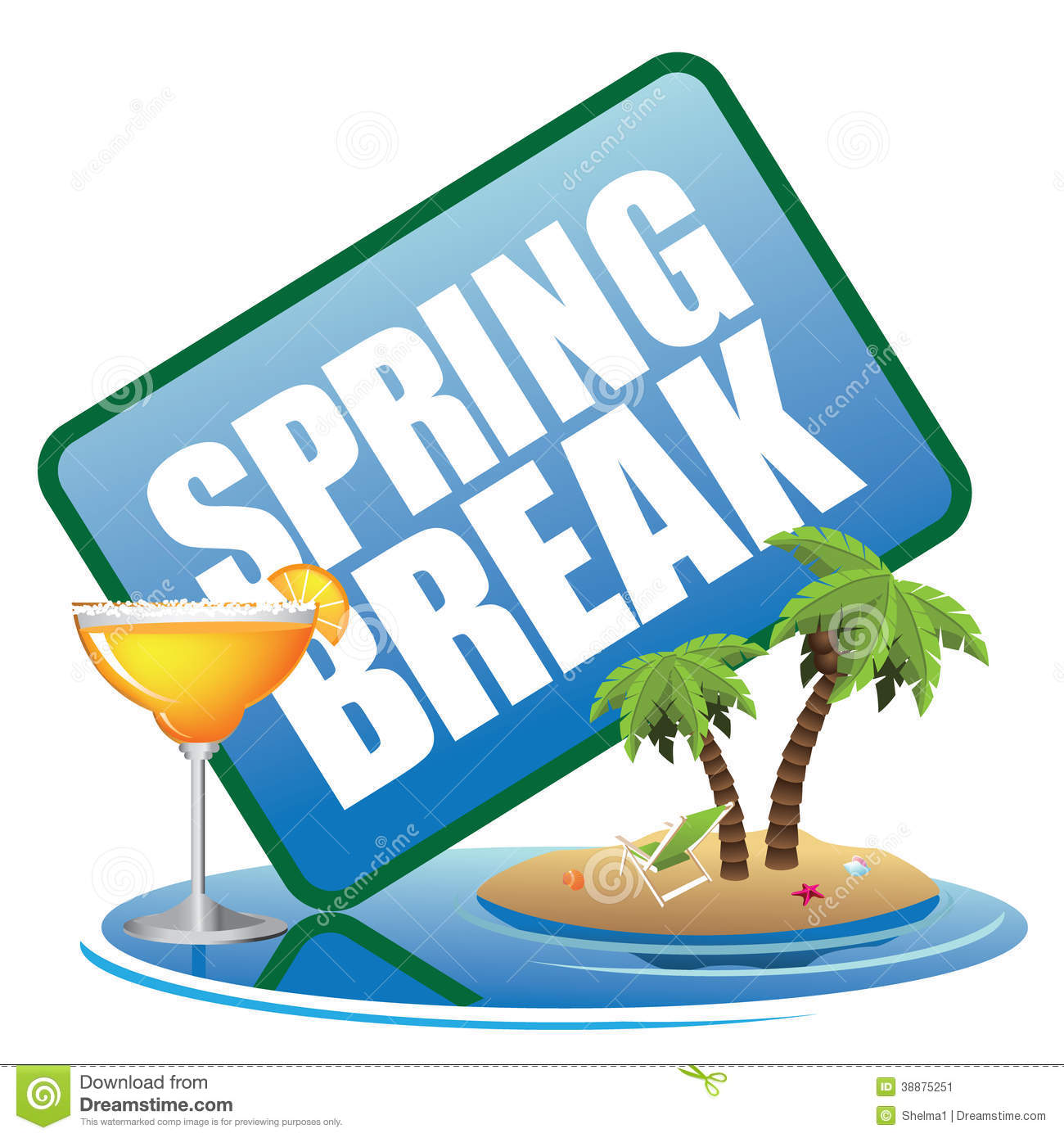 spring vacation clipart - photo #32