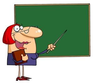 Female Teacher Clipart - Clipart Kid