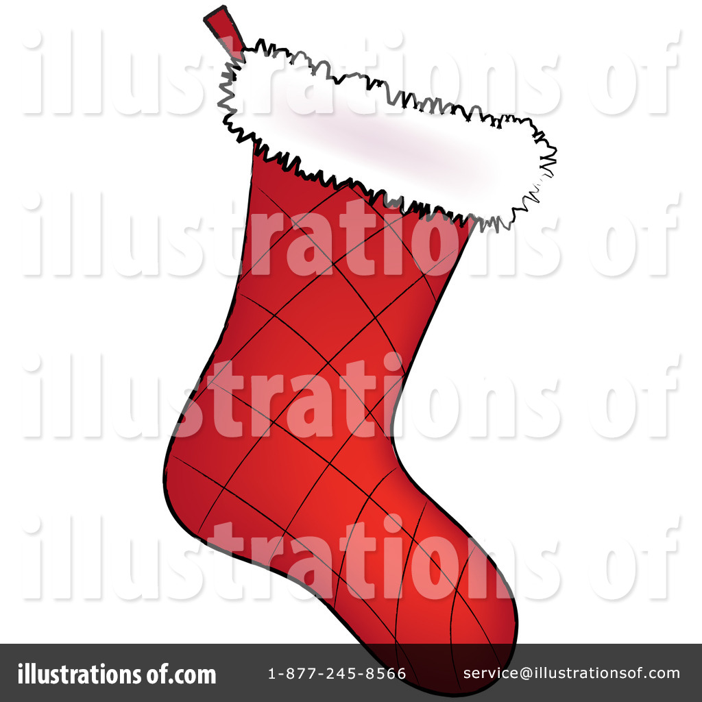 Christmas Stocking Clipart  77708 By Pams Clipart   Royalty Free  Rf