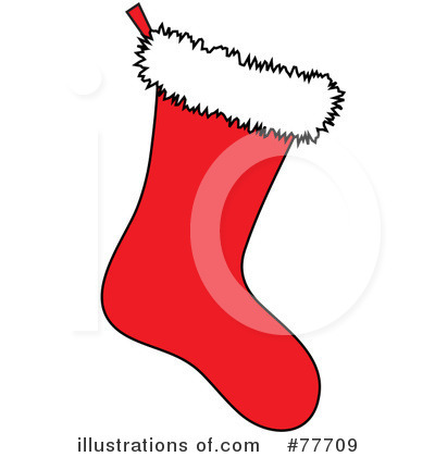 Christmas Stocking Clipart  77709 By Pams Clipart   Royalty Free  Rf