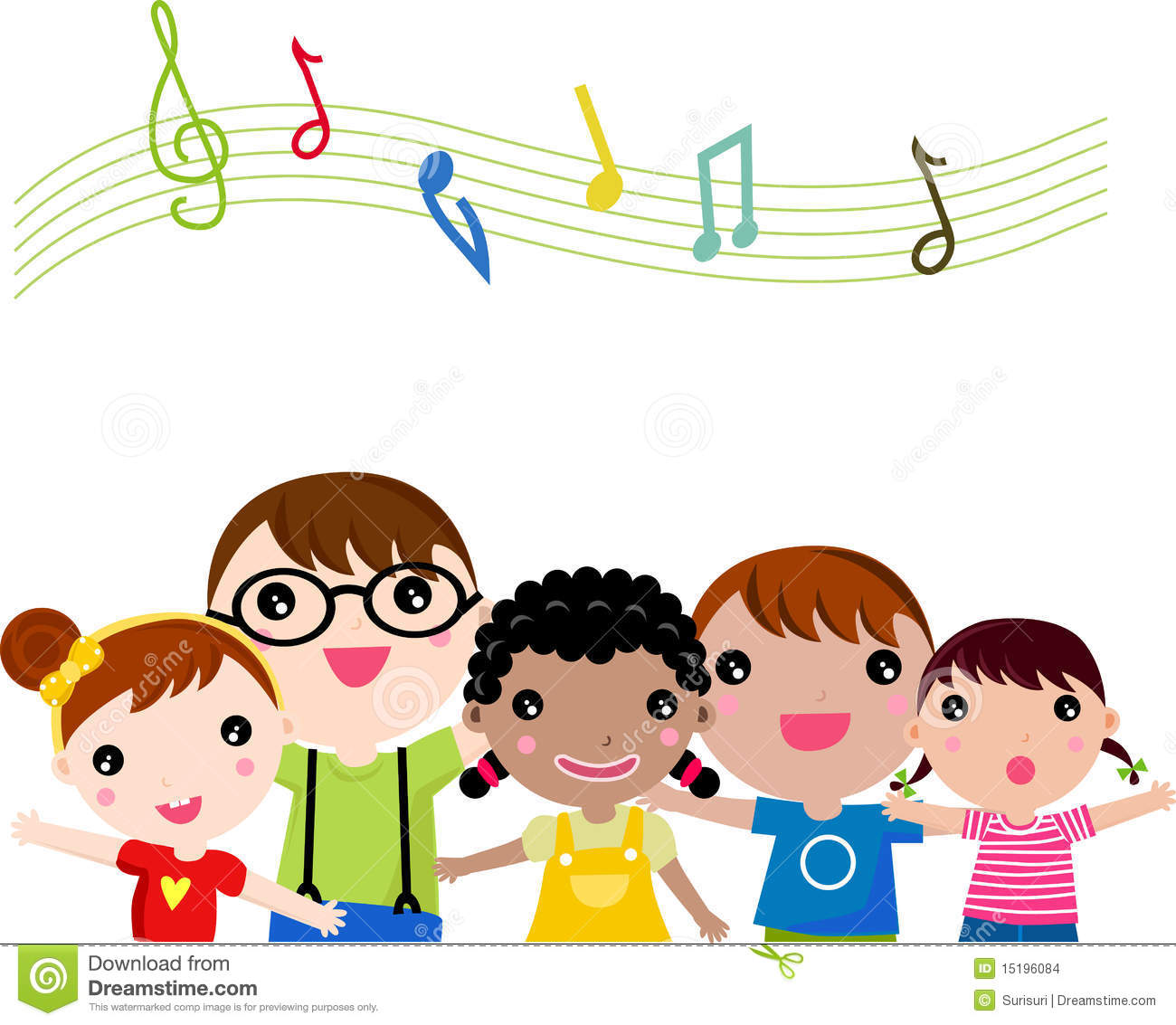 Clip Art Singing Clip Art students singing clipart kid clip art children stock images image image
