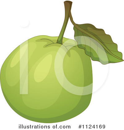 Guava Clipart  1124169 By Colematt   Royalty Free  Rf  Stock