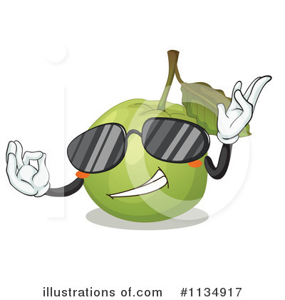 Guava Clipart  1134917 By Colematt   Royalty Free  Rf  Stock