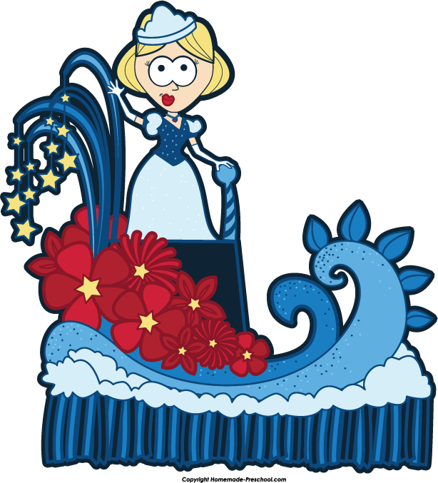 Home Free Clipart July 4th Clipart Beauty Queen Float