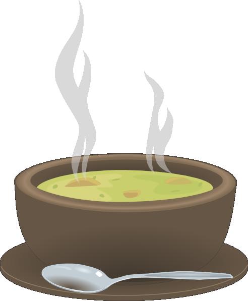 Chicken Noodle Soup Cartoon Clipart - Clipart Kid