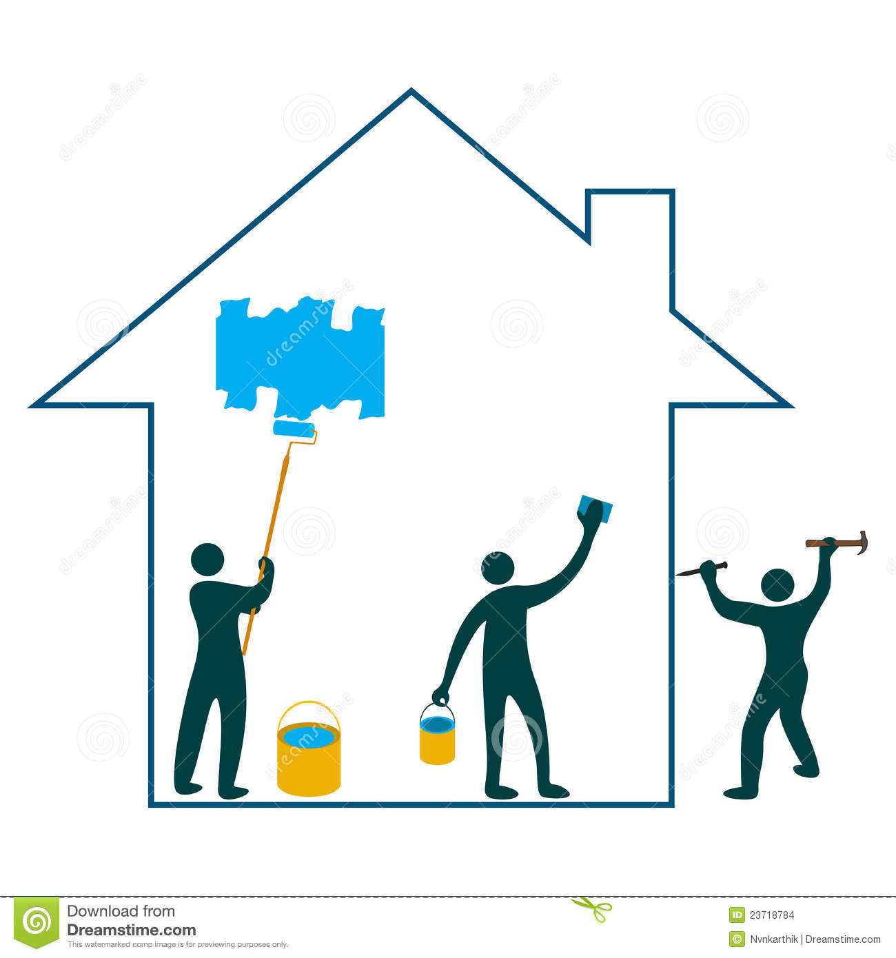 House Remodeling Clipart Clipart Panda
