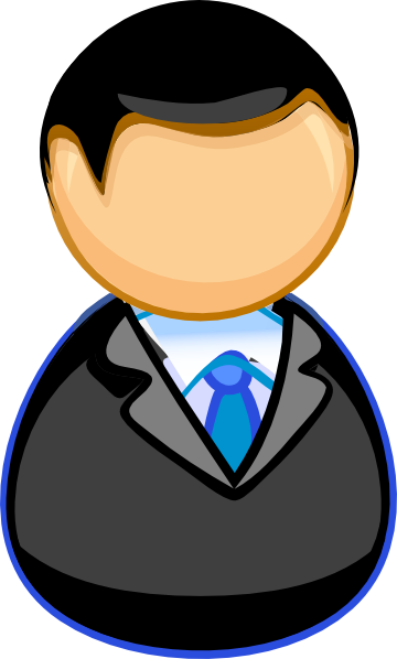 Manager Clip Art At Clker Com   Vector Clip Art Online Royalty Free