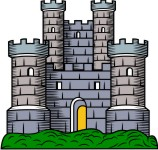 Medieval Castle Clip Art For