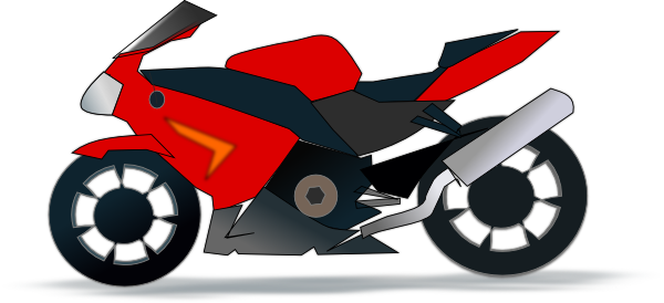 Motor Bike Clip Art At Clker Com   Vector Clip Art Online Royalty